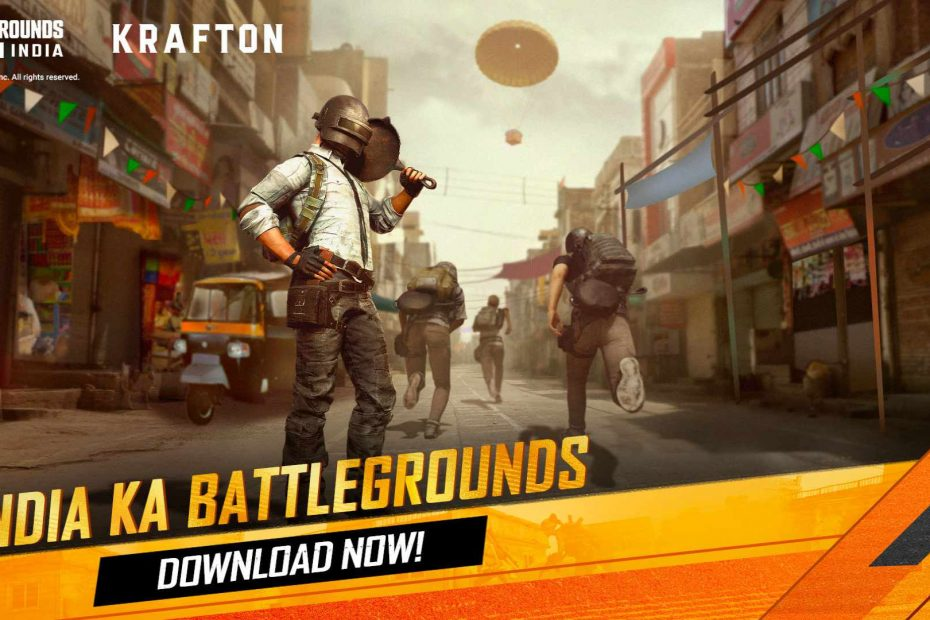 BATTLEGROUNDS MOBILE INDIA Download