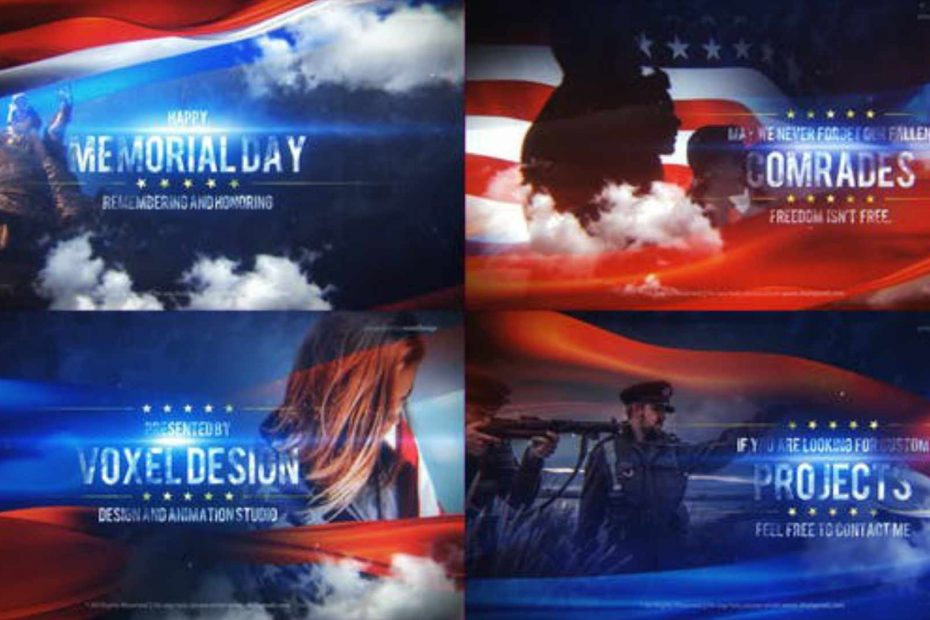 USA Independence Day - Premiere Pro Templates