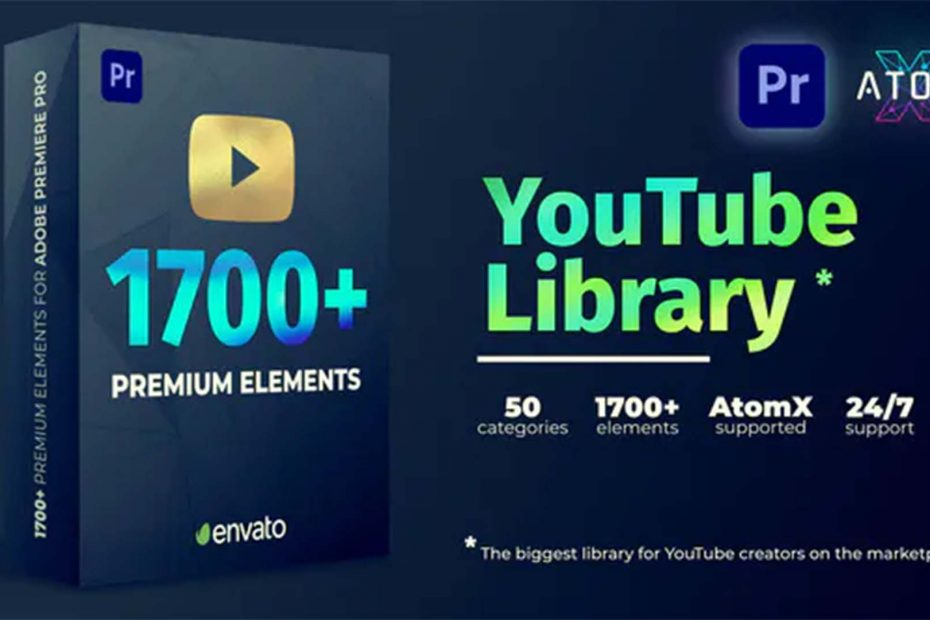 YouTube Pack - The Ultimate Library for Premiere Pro