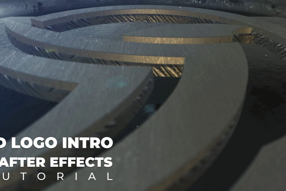 How to Make 3D Logo Reveal Intro | After Effects Tutorial