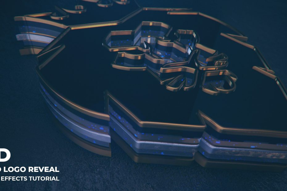 Fast Gold 3D Logo Reveal _ After Effects Tutorial _ Element 3D